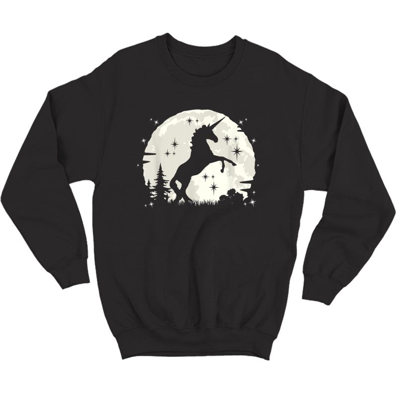 Funny Unicorn Clothing & Unicorn Apparel - Cute Unicorn T-shirt Crewneck Sweater